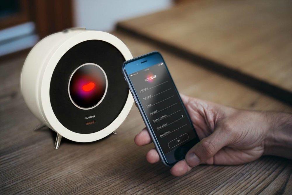 Bonjour Smart Alarm Clock   $ 179