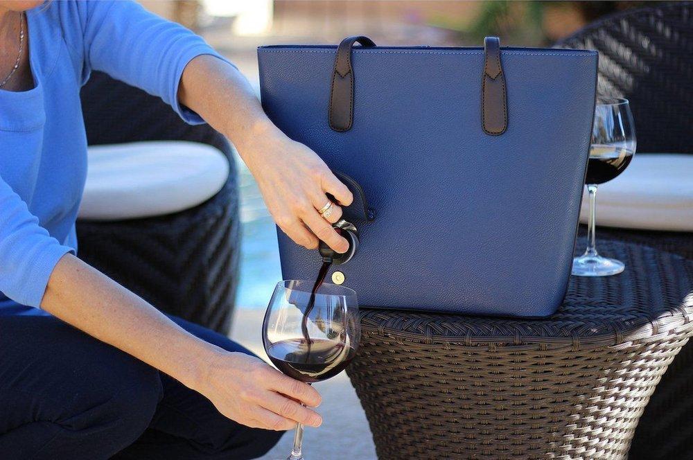 PortoVino Wine Purse   $ 75