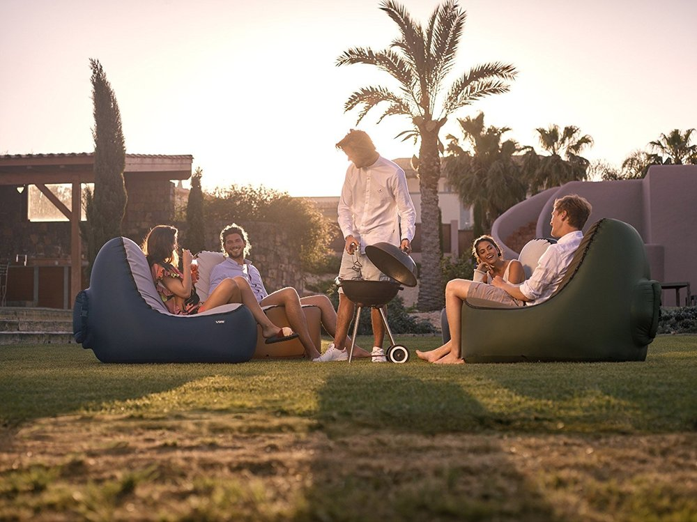 Trono Inflatable Chair   With the Trono Inflatable Chair, you can now chill and relax anywhere and anytime.