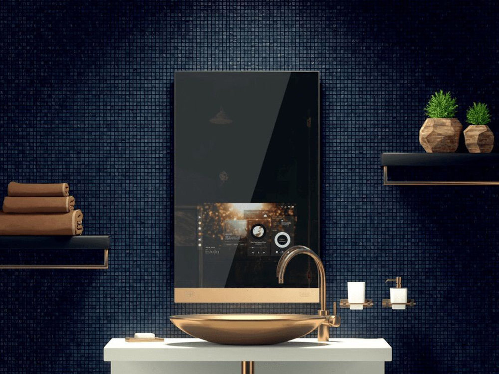 Fred One-Touch Smart Home Mirror - Start your day looking at the world's first luxurious mirror.