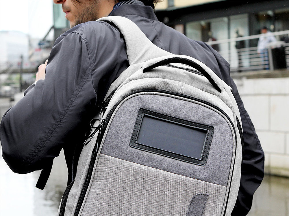 Lifepack Backpack - From technology, security and style the Lifepack all got it