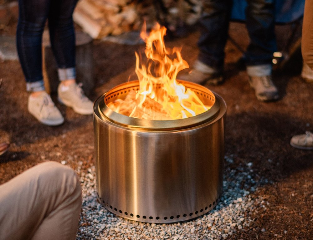 Solo Stove   Tthe perfect portable fire-pit you're looking for.