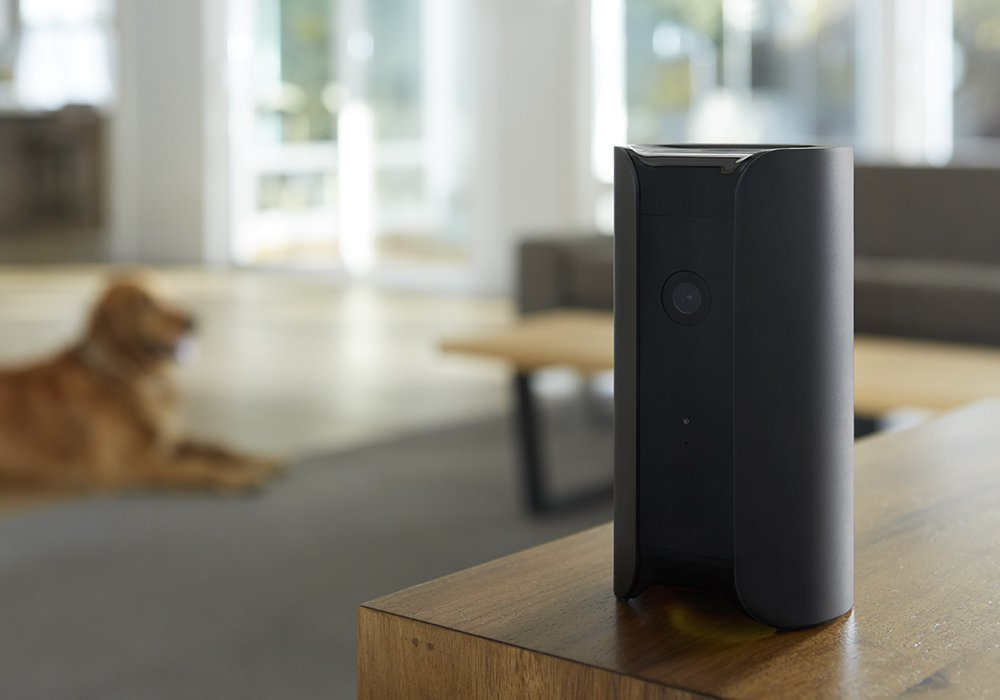 Canary   A security camera packed into a sleek modern design. Watch your home while you travel.