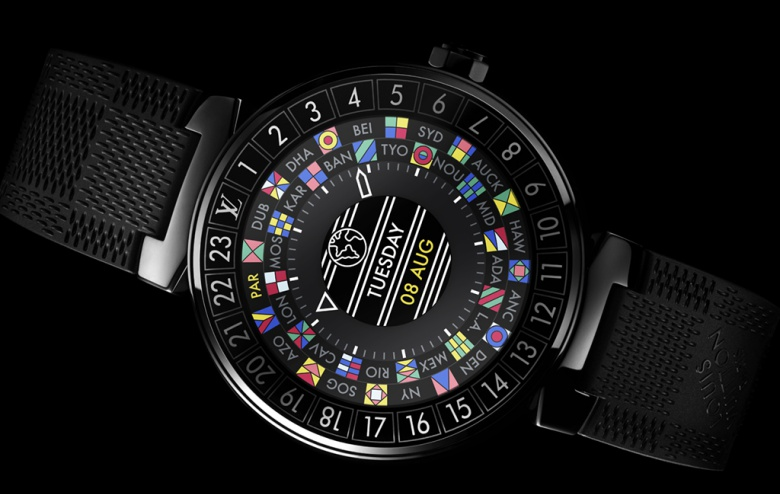 Louis Vuitton Tambour Horizon Smartwatch Frillstash