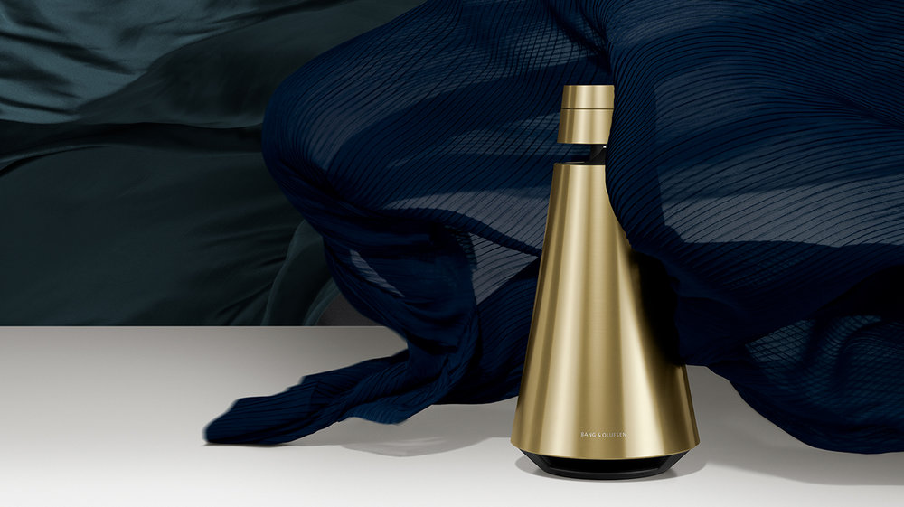 Beosound 2   Conical shape comes with luxury sound system.