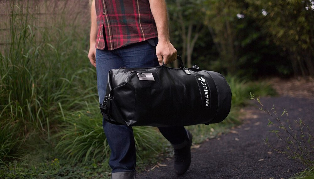 Amabilis Duffel Bag   The last duffel bag you're gonna buy.