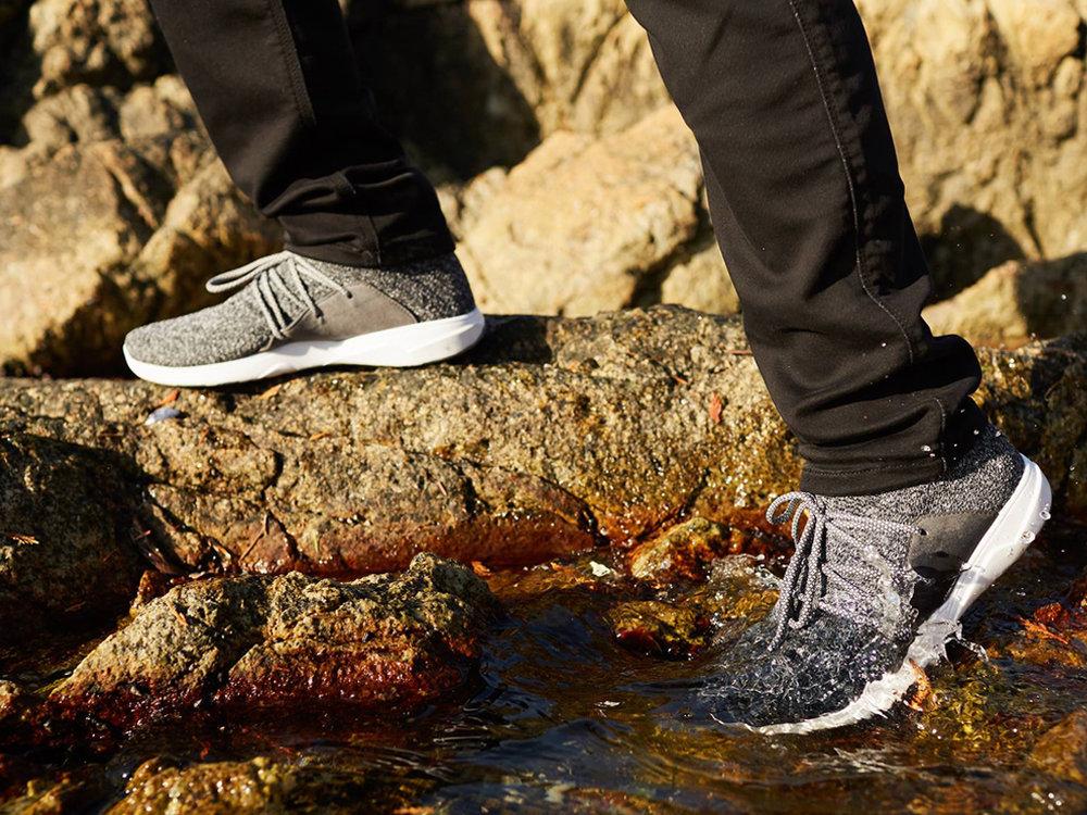 Vessi Footwear - World's first 100% waterproof shoe technology