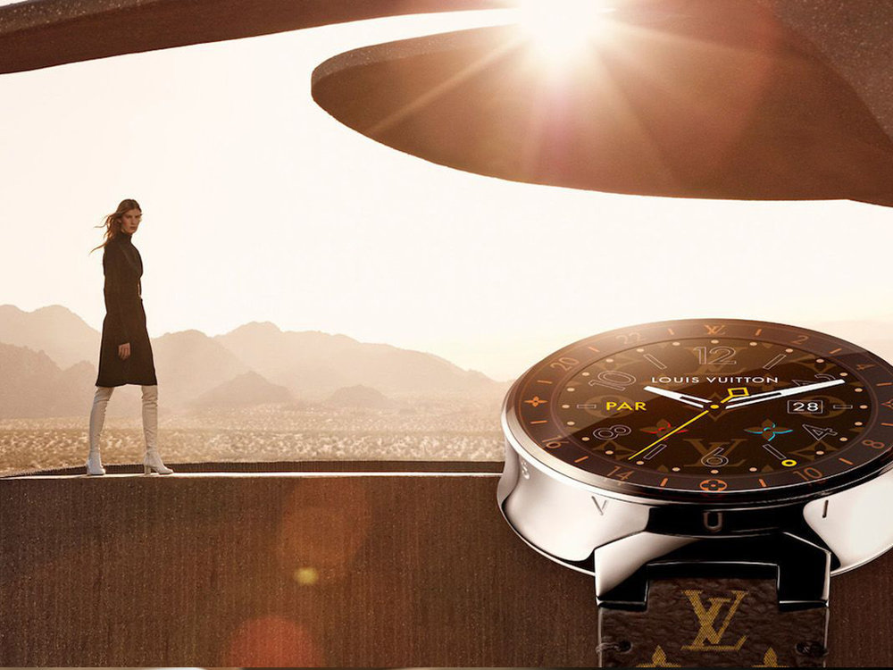 Louis Vuitton Tambour Smart Watch   The first smart watch of Louis Vuitton.