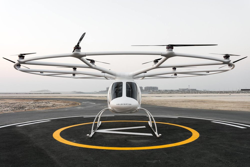 Volocopter Frillstash