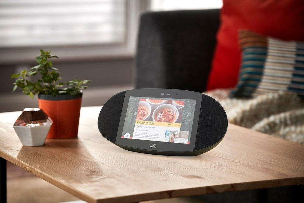 JBL Link View Google Assistant Smart Display Frillstash
