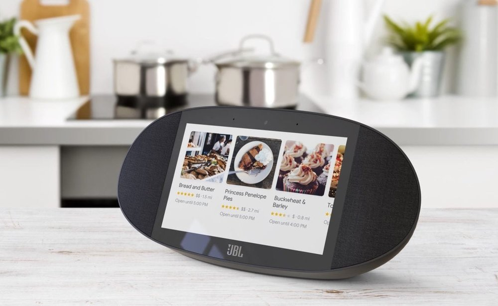 JBL Link View Google Assistant Smart Display