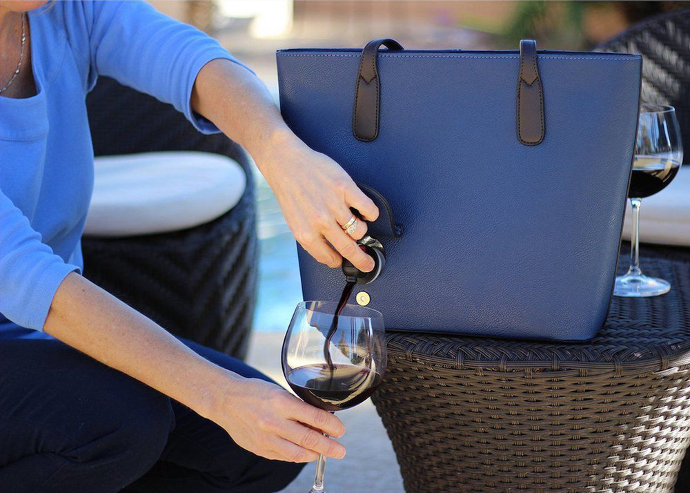 PortoVino Wine Purse Frillstash