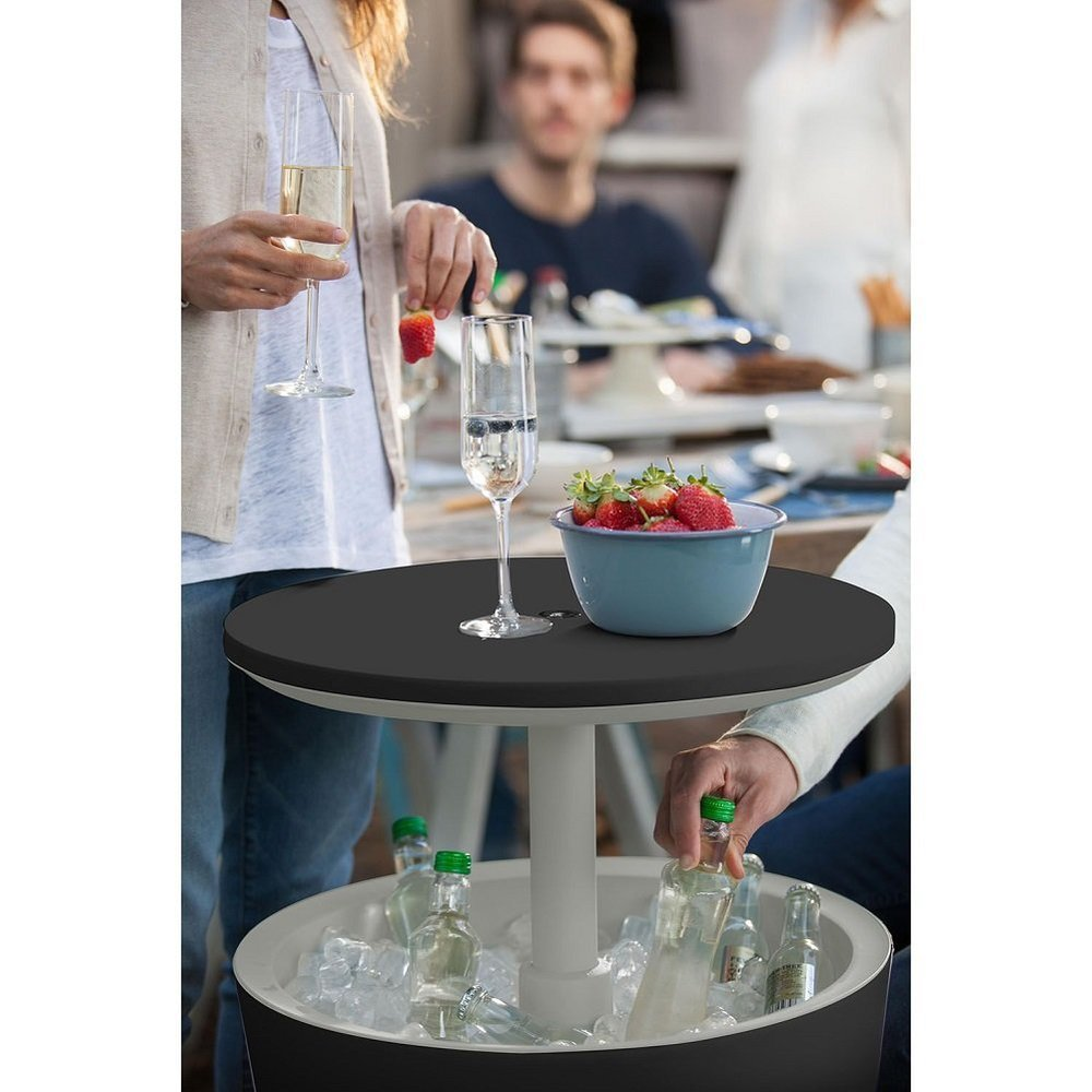 Keter Cool Bar - Have a table that comes with functionality and style. Holding your drinks and keeping it cool at same time. This will surprise your guests.