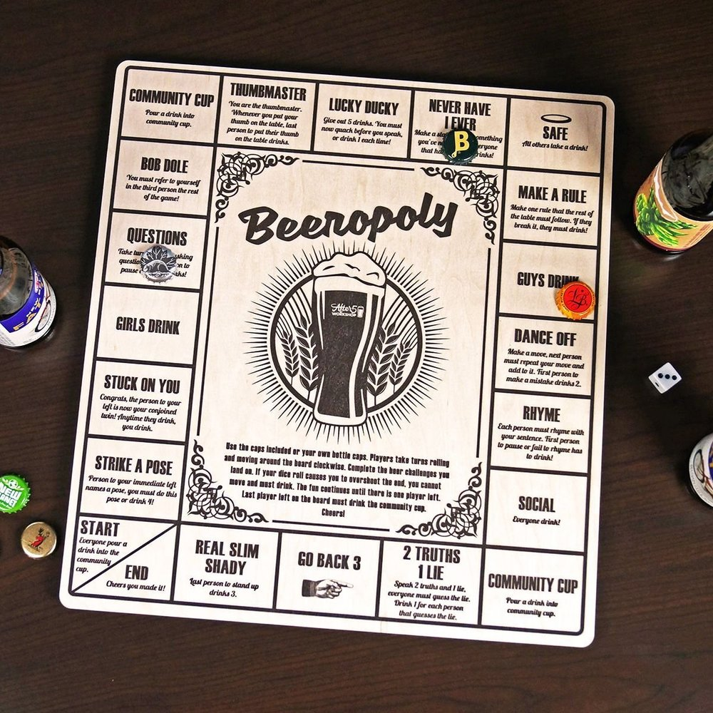 Beerpoly - Role the dice and get ready as you get on board with a series of dares and drinking challenges.