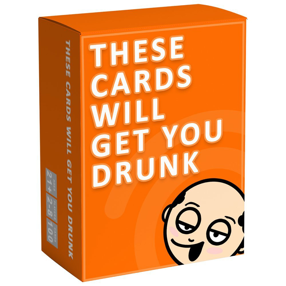 These Cards Will Get You Drunk - As what the title states, yes this game will make your night. The rules are pretty simple. Just draw one card at a time, read a loud and follow the instructions.