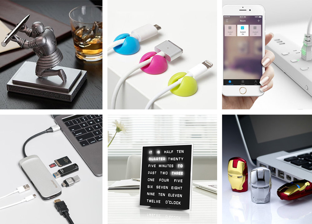 Coolest Office Gadgets To Have!   From fancy items, productivity gizmo and multi-purpose organizer.