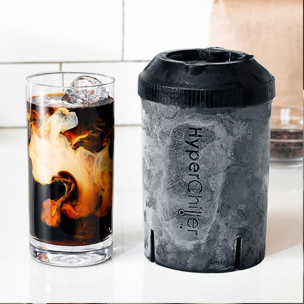 HyperChiller - No more waiting game for this one. Instantly chill your drinks under a minute.