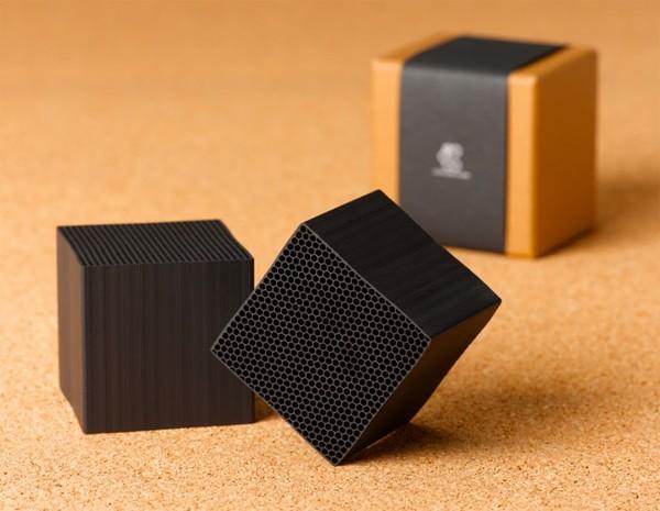 Chikuno charcoal Cube Frillstash