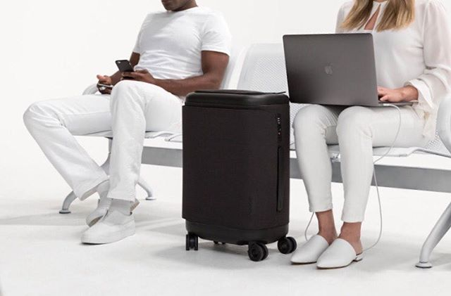Sleek black luggage ready to tour with you around the world