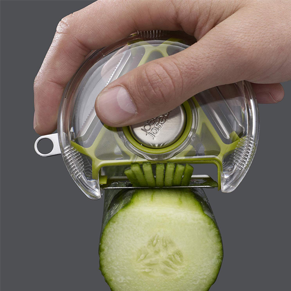 3-in-1 Rotary Peeler - Easy to use multi-purpose peeler, just rotate the blades and pick which blade is ideal to strip.