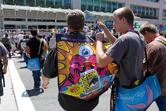 SDCC 2011 Bag