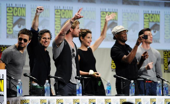 Avengers 2 Panel SDCC