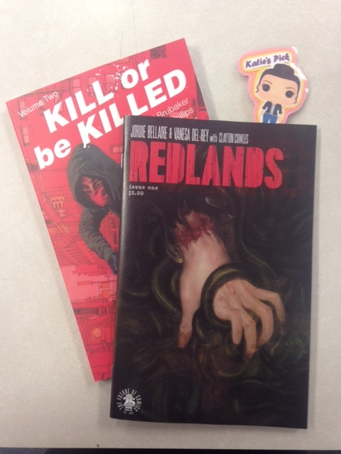 Redlands #1 - Katie's PickA brand-new horror book from the minds of Eisner Award-winner JORDIE BELLAIRE (Pretty Deadly) and critically acclaimed artist VANESA R. DEL REY (ScarletWitch) brings you to the sleepy, sunny town of Redlands, Florida. The police are failing to maintain control of their old-fashioned town, and a coven of killer witches plan to take everything from them. This summer, hide your bibles.