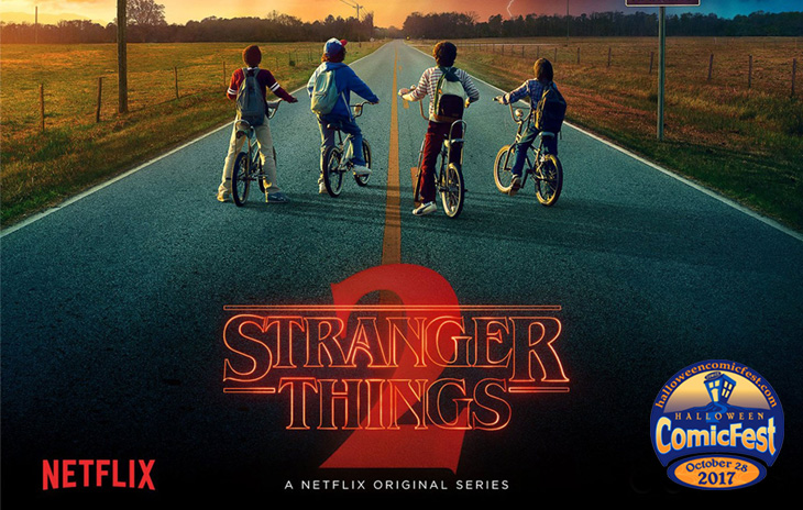 Halloween ComicFest  is the second biggest International Comic Book Event of the Year! Free Comics. The Greatest Halloween Costume Contest Ever! And so much more! And this year... ComicFest is Sponsored by  Netflix's Stranger Things , Season 2!