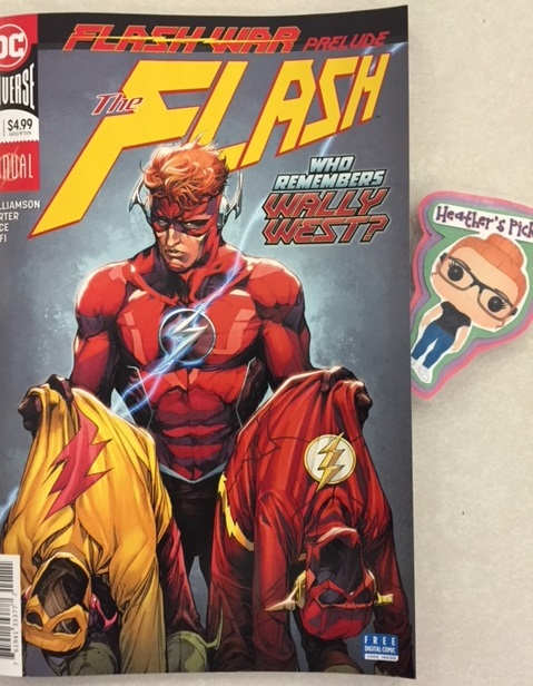 Flash Annual #1 - Heather's Pick