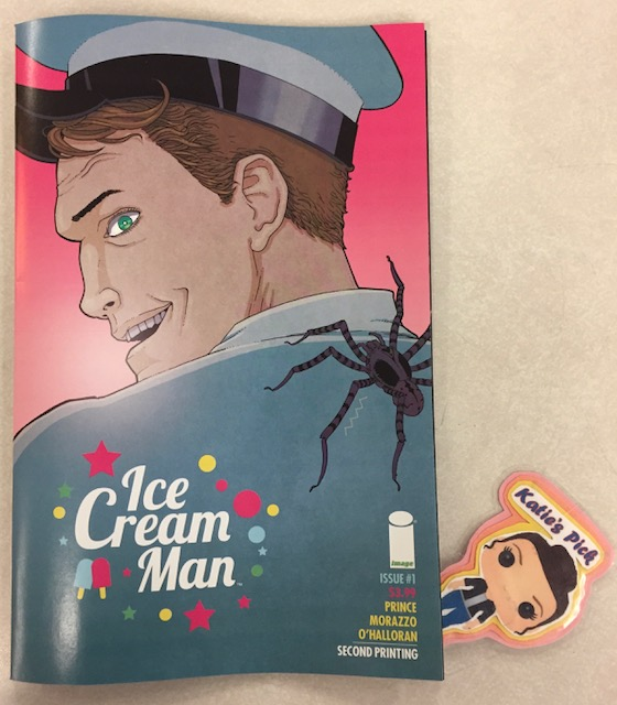 Ice Cream Man #1 (2nd Print) - Katie's PickChocolate, vanilla, existential horror, drug addiction, musical fantasy...there's a flavor for everyone's misery. Ice Cream Man is a genre-defying comic book series featuring disparate