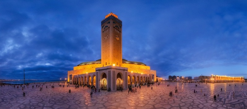 Hasan Mosque of Rabat Morocco