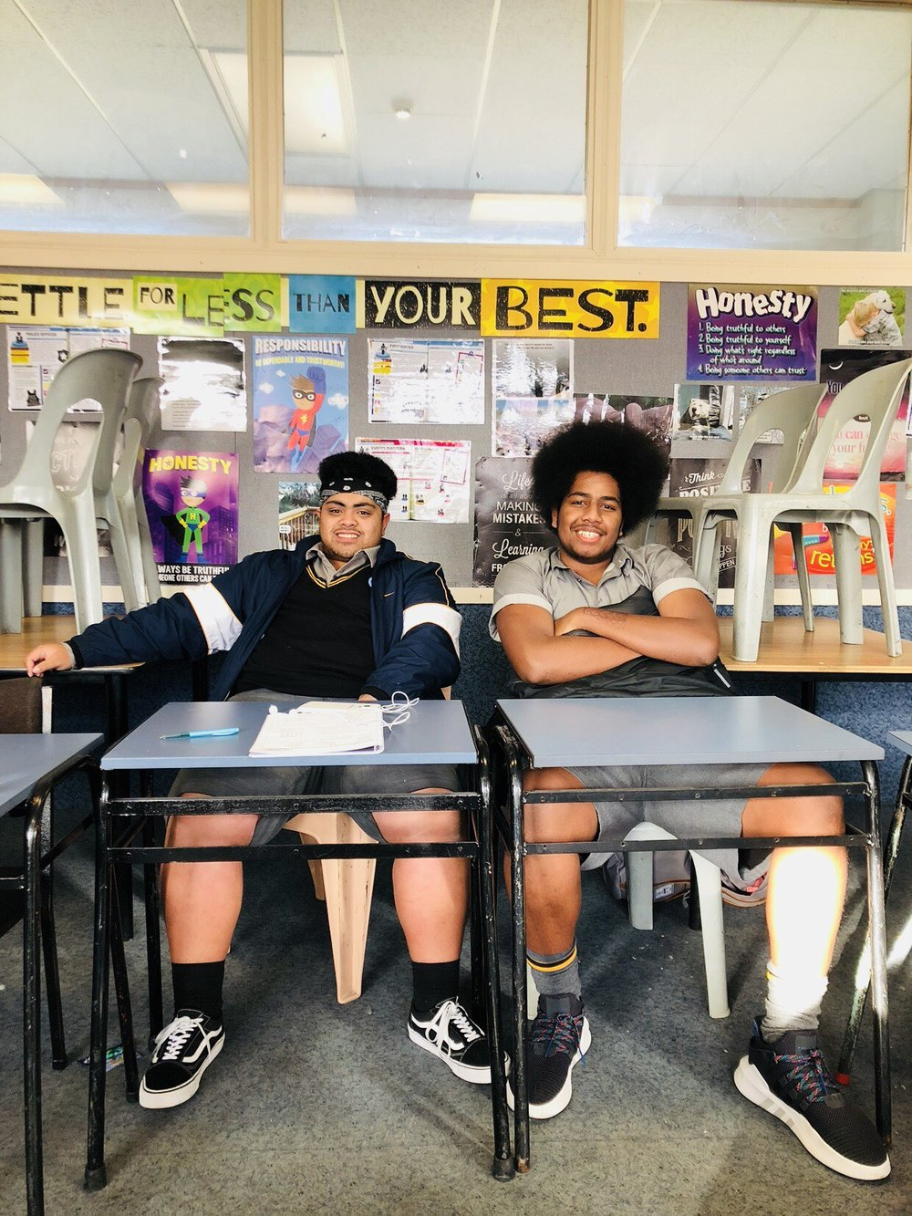 Image taken at a GET Started & GET Going workshop at Rongotai College -