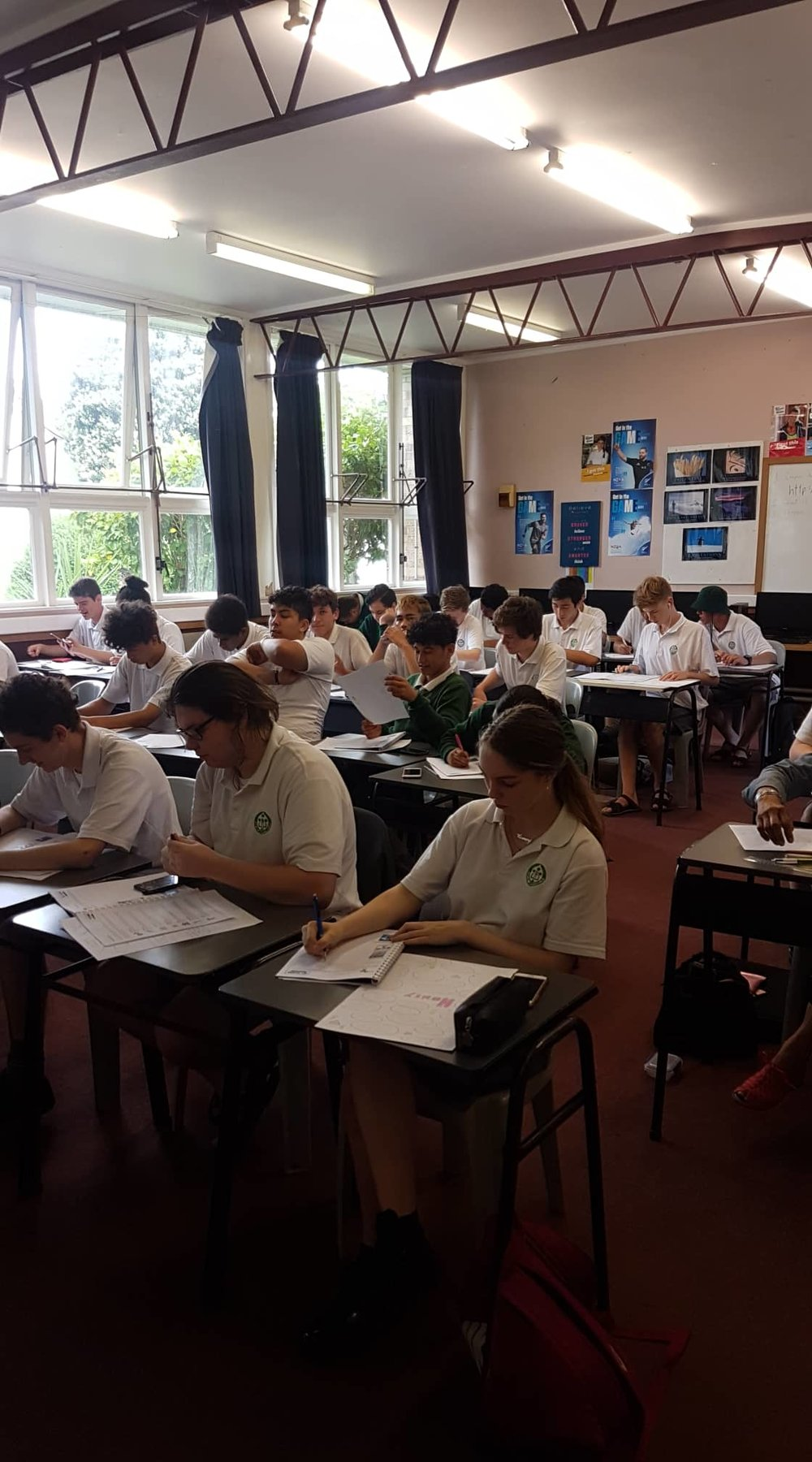 Image taken at a Whanganui High School workshop - GET Started Level 1 -
