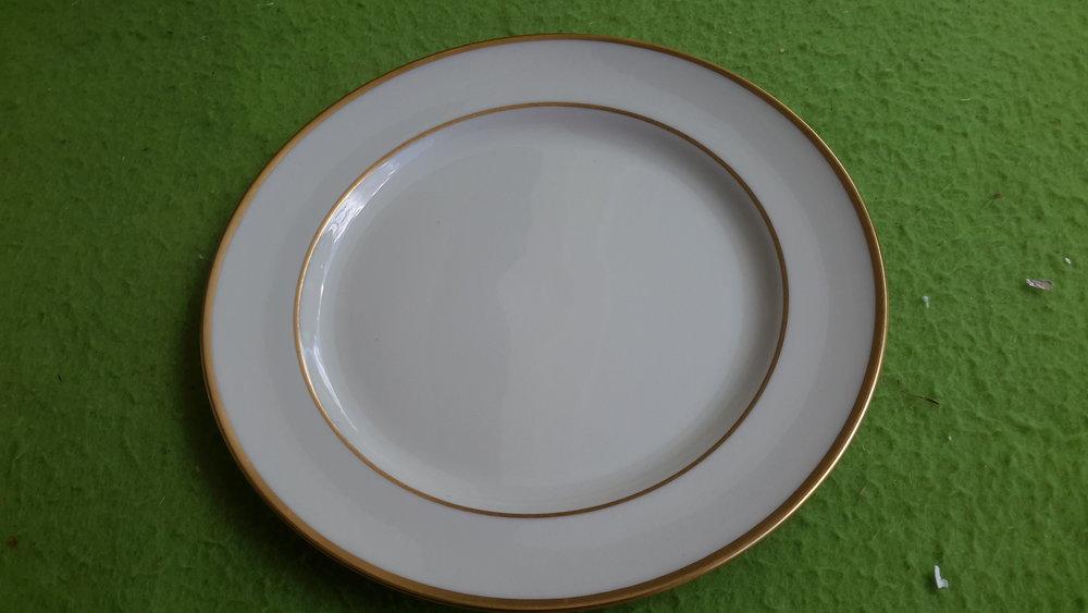 Lenox Mansfield Gold rimmed plates.jpg