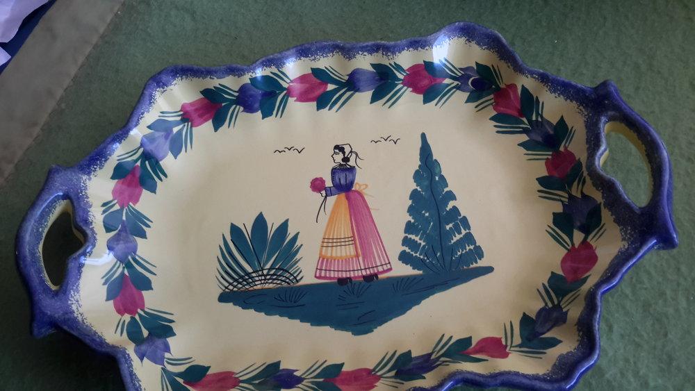 Quimper platter with handles.jpg