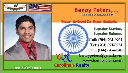SILVER SPONSOR - BENOY PETERS Realtor -