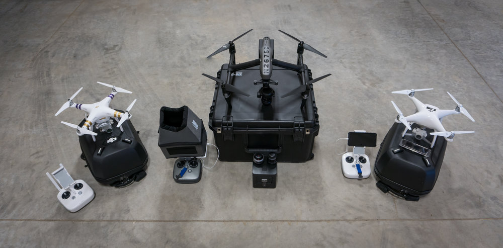 Webb Media Solutions' aerial vehicles