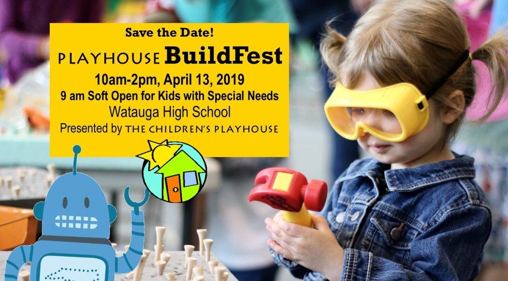 Playhouse BuildFest returns Saturday, April 13 at Watauga High School