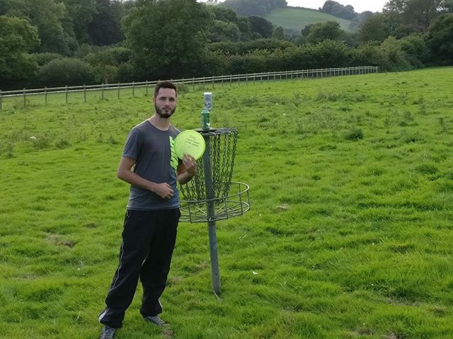 Congratulations to Charlie Cooper on his recent ace with the Passport. Our World athlete, @disc.bri.c, left some discs in the U.K. on her tour and just like that - ACE!! www.FullTurnDiscs.com
