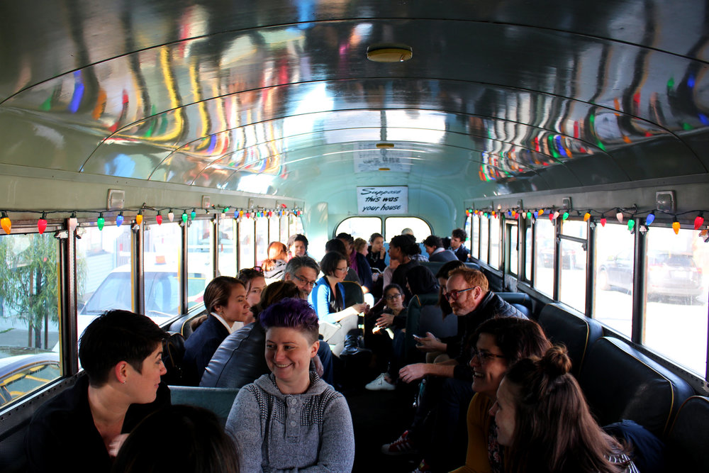 Inside the magic School Bus adventure!