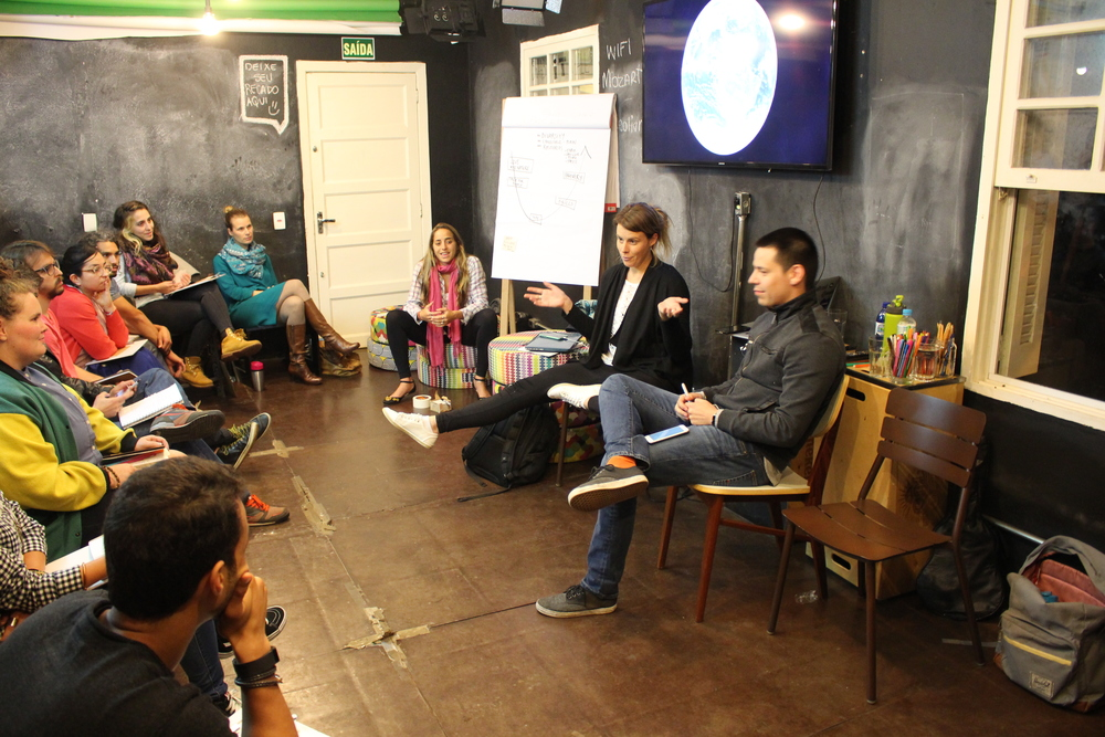 Sara and Arturo, our UnSchool Alumni, host the first reflection session