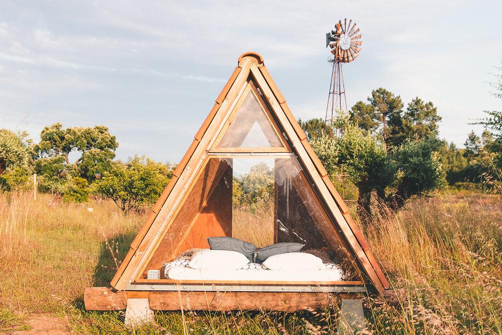 co project triangle cabin