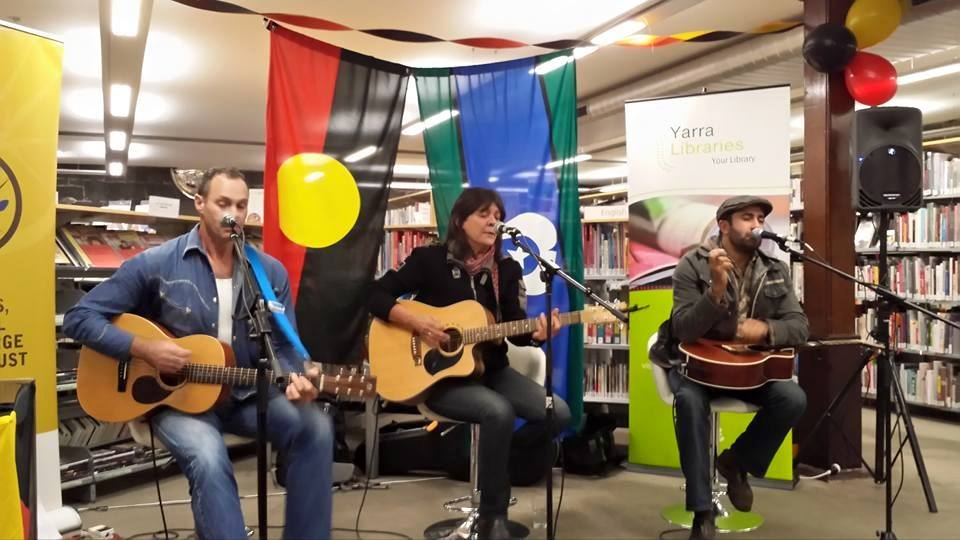 Koorie Stories and Song, Fitzroy Library