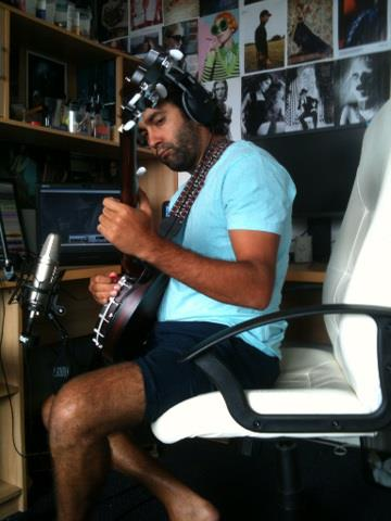 At home recording