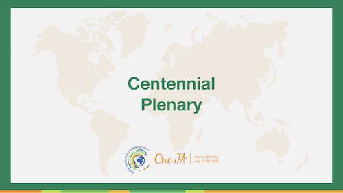 Copy of Global Centennial Update