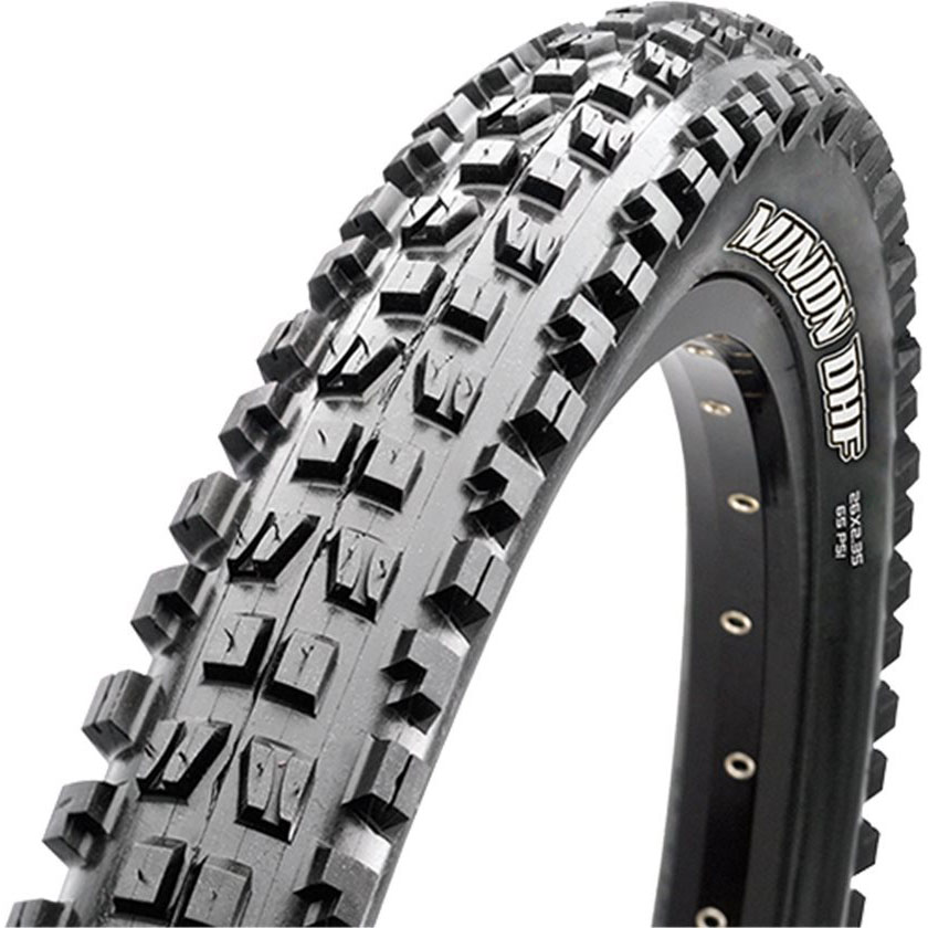 "Maxxis Minion DHF WT - After running DHF for 650+ miles of harsh terrain I just upgraded to the DHF WT. The ""Wide Trail"" version of the tire is supposed to be a match made in heaven for my 35mm internal width carbon rims. Use coupon code BKXC-10 to save 10%."