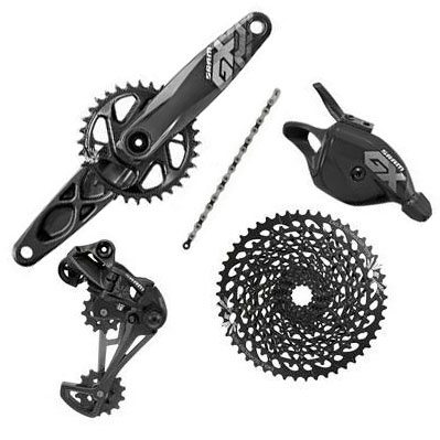 GX Eagle Drivetrain - All the glorious power of SRAM's 12 speed innovation at half the price.