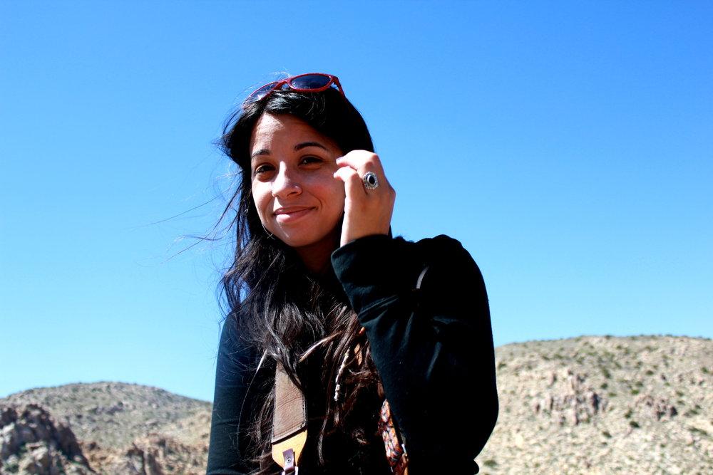 Brenna Kays in Joshua Tree National Park