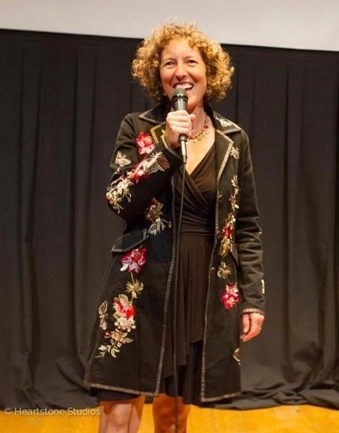 Jessica speaking at the  Northwest Film Forum. (Heartstone Studios)