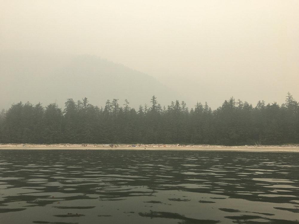 - British Columbia, Washington, Oregon, California…all familiar with the orange haze of smoke.